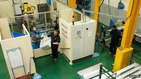 Sertec manufacturing