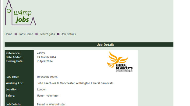 John Leech's ad on W4MP