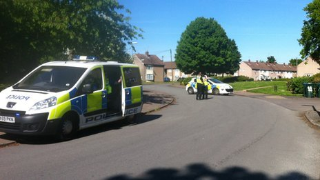 Police in Tile Hill