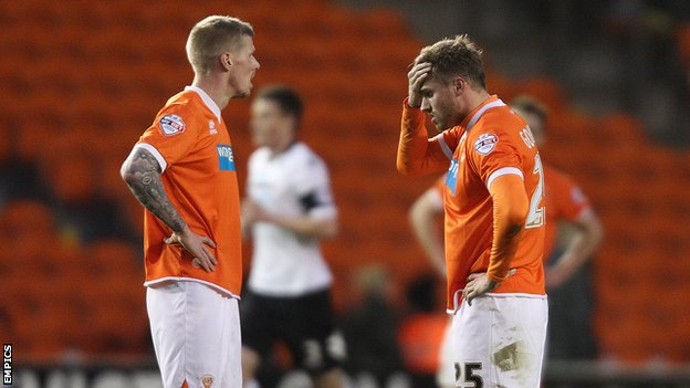 Blackpool players