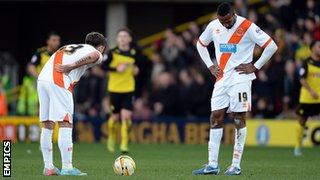 Blackpool players