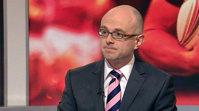 BBC Wales sports news correspondent Gareth Lewis
