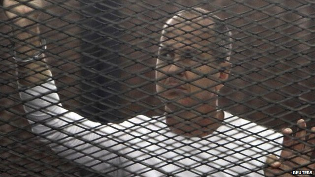 Peter Greste in jail in Cairo