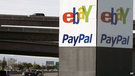 eBay/PayPal sign in San Jose