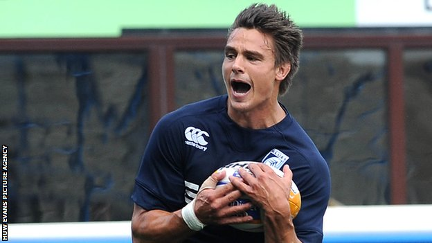 Chris Czekaj Cardiff Blues Colomiers