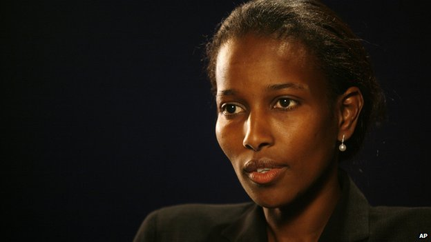 A 2007 photo portrait of Ayaan Hirsi Ali.