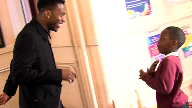 Liverpool's Daniel Sturridge dance surprises young fans