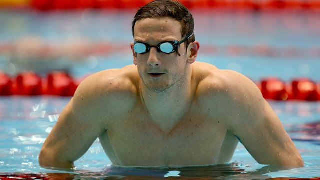 Michael Jamieson wins British 200m breaststroke title