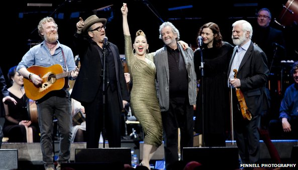 Glen Hansard, Elvis Costello, Imelda May and Lisa Hannigan were among the performers