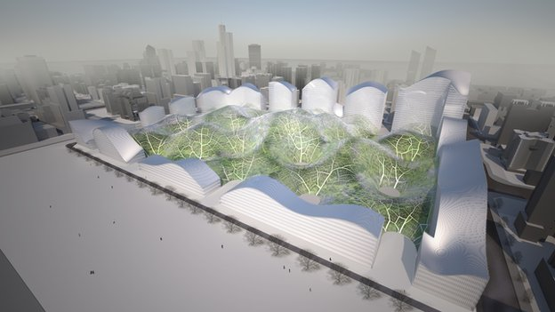 Project proposal of London-based architecture and design firm Orproject