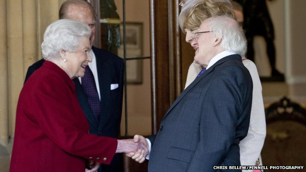 Queen farewell to Higgins