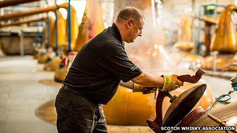 Distillery worker