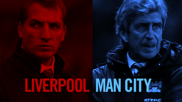 Key stats ahead of the title showdown between Liverpool and Manchester City