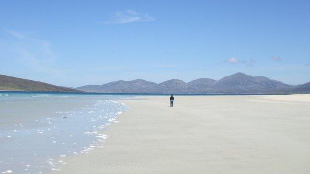 Luskentyre beach