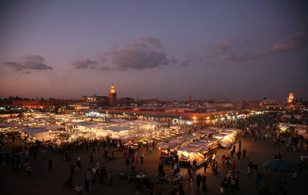 Square in Marrakech