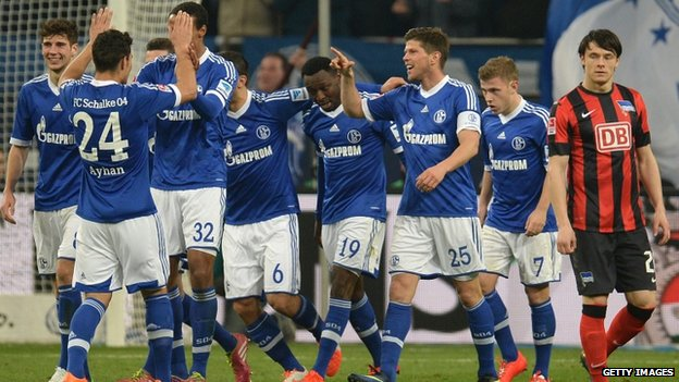 Gazprom sponsor one of Germany's biggest football teams, Schalke 04