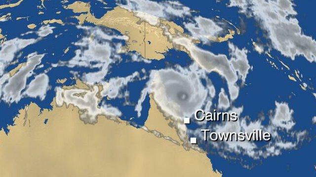 Satellite image of Australia