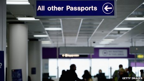 Border control: eDINBURGH AIRPORT 10/2/2014