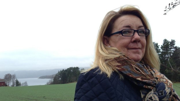 Cathrine Lutken, mother of one of Breivik's victims