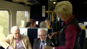 Celebrations on the Settle-Carlisle railway line