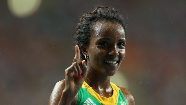 Ethiopia's triple Olympic gold medallist Tirunesh Dibaba
