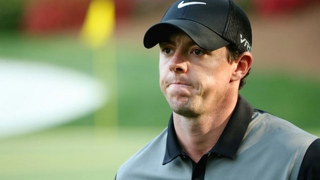Rory McIlroy had a tough second day at Augusta