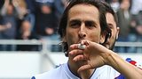 QPR midfielder Yossi Benayoun celebrates giving his side the lead against Nottingham Forest