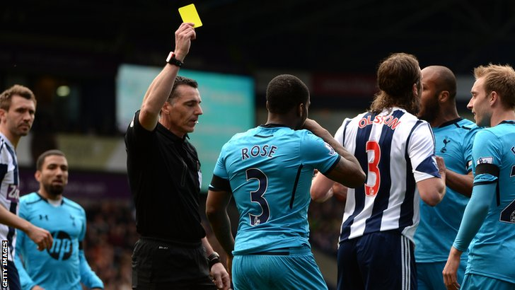 Danny Rose booked