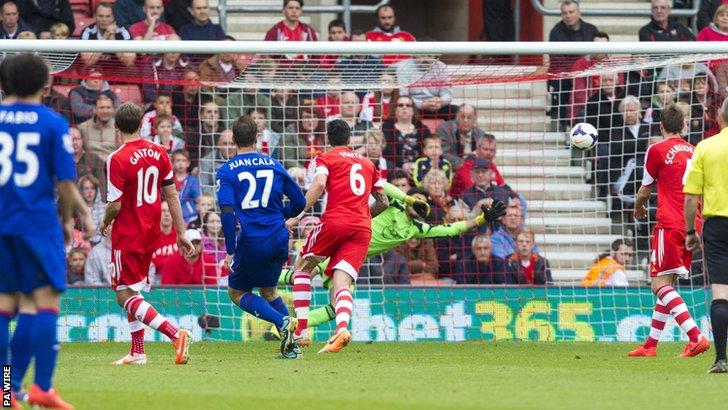 Juan Cala's goal