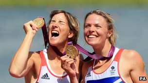 Rowers Katherine Grainger and Anna Watkins