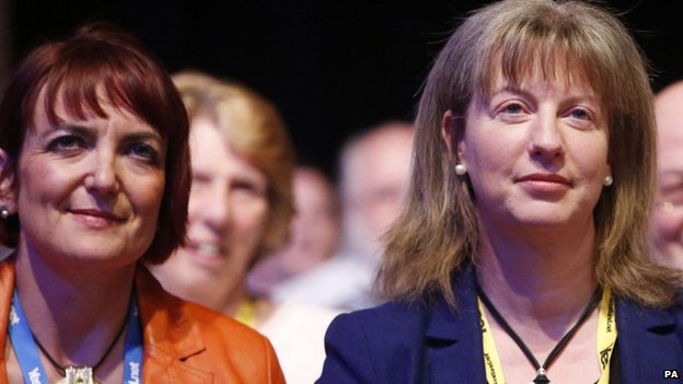 Angela Constance and Shona Robison