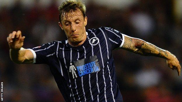 Millwall's Martyn Woolford