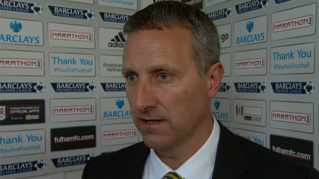 "New manager Neil Adams says Norwich ""need to pick up points"""