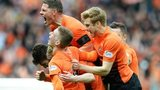 Dundee United beat Rangers 3-1 to reach the Scottish Cup final