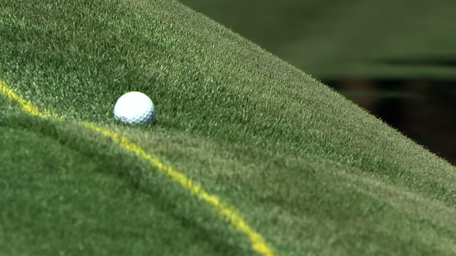 Masters 2014: Justin Rose benefits from 'miracle' ball