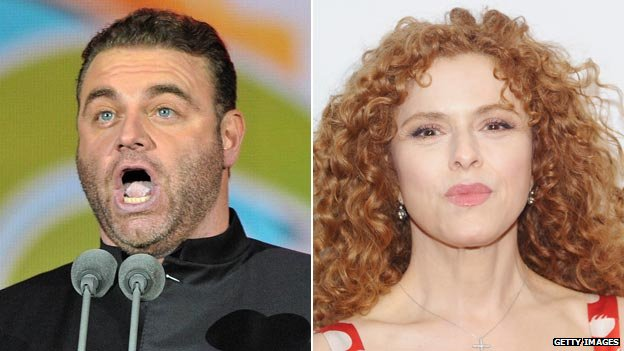 Joseph Calleja and Bernadette Peters