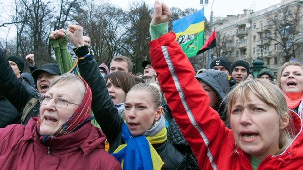 Protest in Ukraine