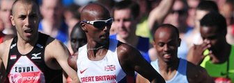 Mo Farah in London Marathon