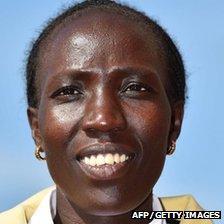 Kenya's Edna Kiplagat