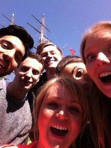 Radio team Selfie