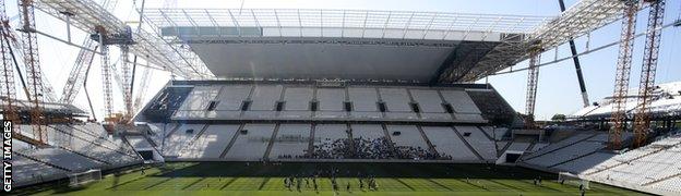 Sao Paulo's Itaquerao Stadium