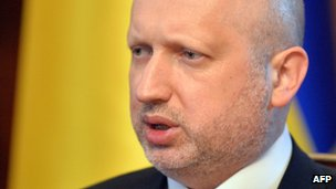 Interim Ukrainian President Olexander Turchynov