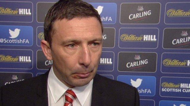 Interview - Aberdeen boss Derek McInnes