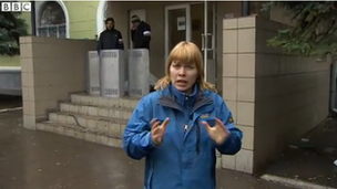 The BBC's Olga Ivshina in Kramatorsk
