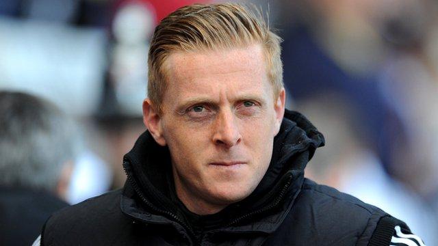 Swansea City boss Garry Monk