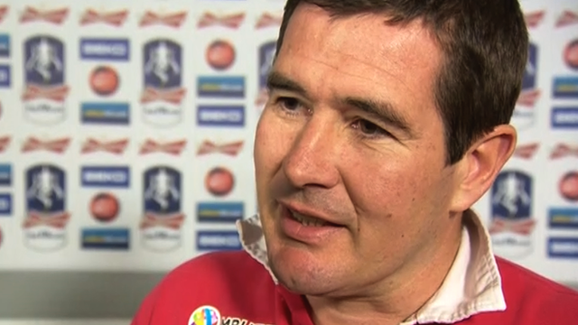 Nigel Clough proud of Blades FA Cup effort