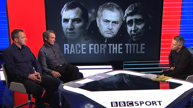 Dietmar Hamann, Alan Hansen and Gary Lineker discuss the title race on MOTD3