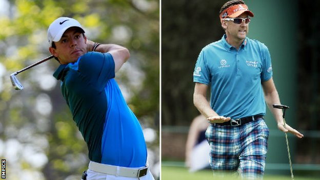 Rory McIlroy and Ian Poulter