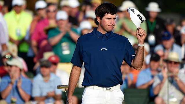 Masters 2014: Bubba Watson's best five shots