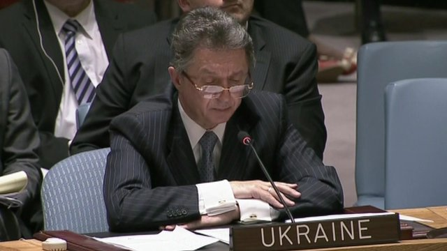 Ukrainian ambassador to the UN Yuriy Sergeyev